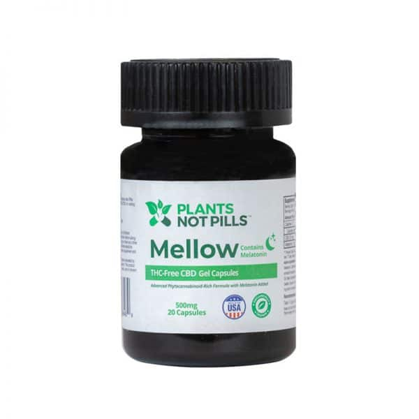 hemp cbd capsules with melatonin sleep