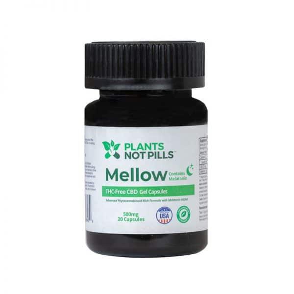 hemp cbd capsules with melatonin sleep