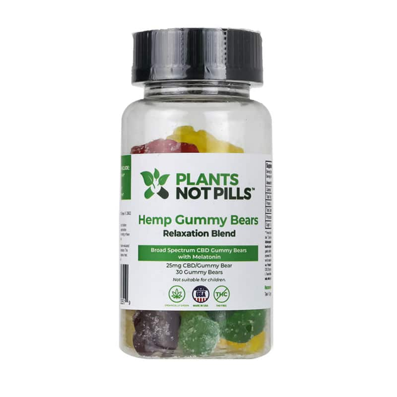 CBD gummy bears with melatonin