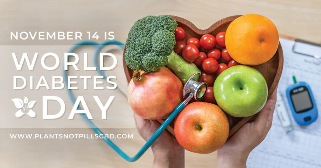 Plants Not Pills CBD marks World Diabetes Day